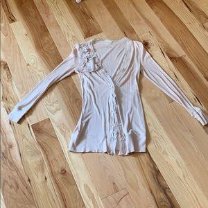 Ann Taylor Loft distressed cardigan